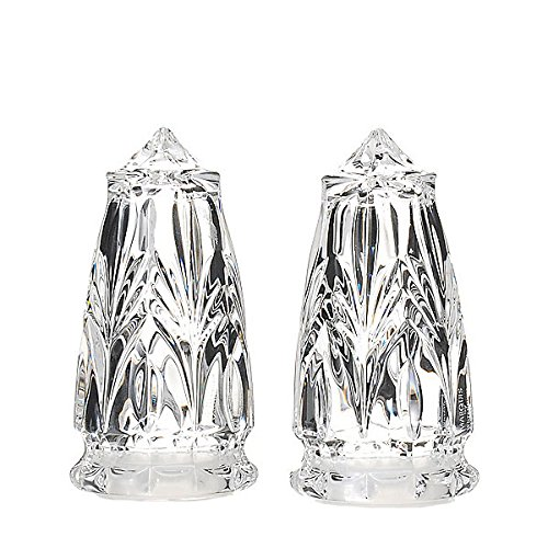 Marquis by Waterford Canterbury Crystal Salt & Pepper Shakers by Waterford