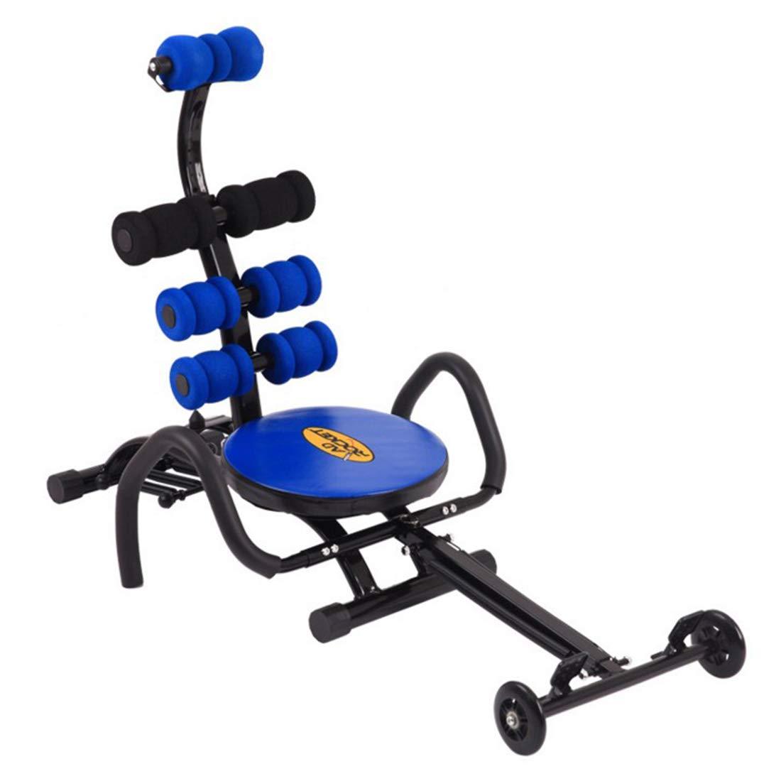 人民の東の道 仰臥位ボード/腹筋運動器具/ホーム腹部多機能腹筋ダンベルベンチ/該当する場所:リビングルーム、バルコニー、寝室、オフィス (色 : ブルー)  ブルー B07R18Y9YZ