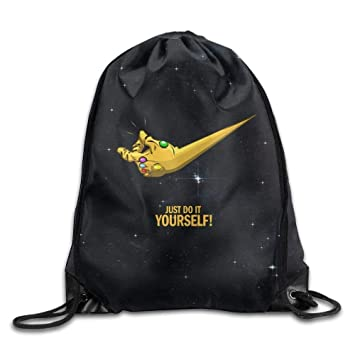 Livraison gratuite dans le monde entier codes promo à bas prix DSGFSQ Sac de Sport,Sac à Cordon Just Do It Yourself Belt ...