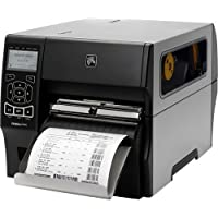 Zebra Technologies ZT42062-T410000Z Series ZT420 Direct Thermal/Thermal Transfer Industrial Printer, 203 DPI, 6 Max Print Width, Tear Bar, USB/Serial/10/100 Ethernet/BT 2.1, USB Host, EZPL, Rewind