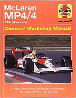 Mclaren Mp4/4 Owners Workshop Manual: An insight into the design, engineering, maintenan: Amazon.es: Haynes Publishing: Libros en idiomas extranjeros