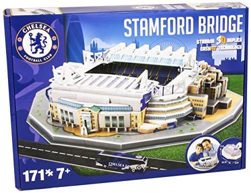 Price comparison product image Nanostad Chelsea Stamford Bridge Stadium 3D Puzzle