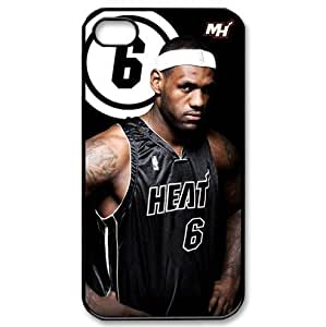 iphone4/4S designed case with Miami Heat LeBron James poster