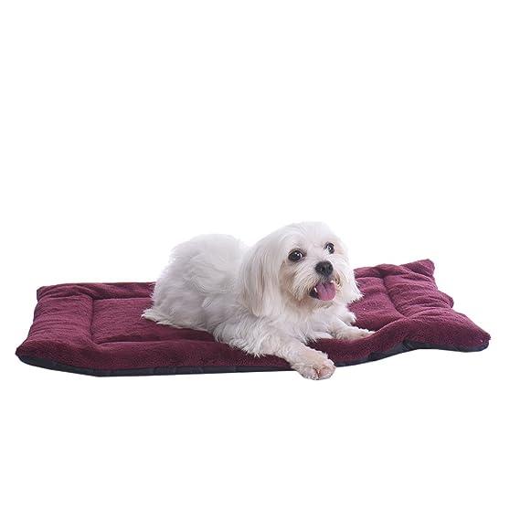 Cama para mascotas (perro y gato) - Cojín cálido con funda impermeable extraíble para el descanso de su mascota.: Amazon.es: Productos para mascotas