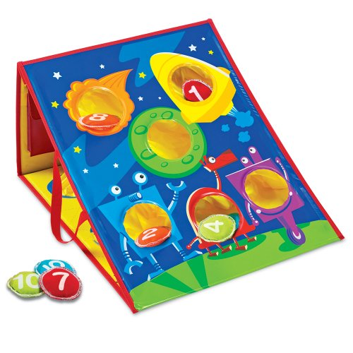 Learning Resources Smart Toss Game, 4 Different -
