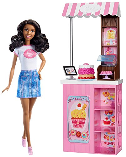 Barbie Careers Bakery Shop Doll & Playset, - Bakery Barbie Playset