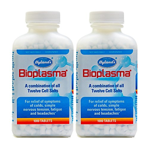 - Hyland's Bioplasma Tablets, 1000 Tablets (Pack of 2)