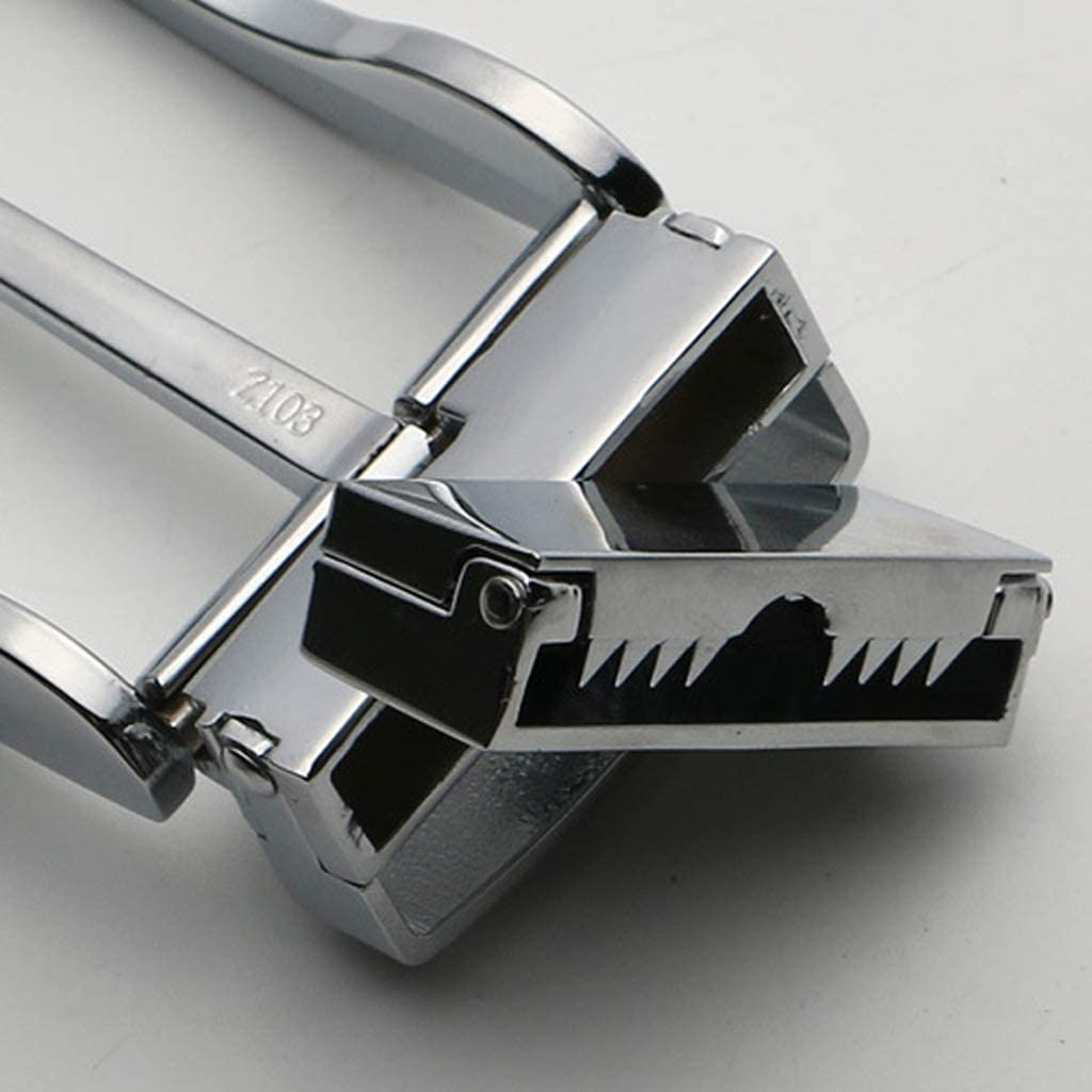 Prettyia 2pcs Fashion Metal Single Prong Belt Buckle Rotated Buckle Casual Business