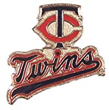 MLB Twins Script and TC Logo Minnesota Twins Lapel Pin (Button)