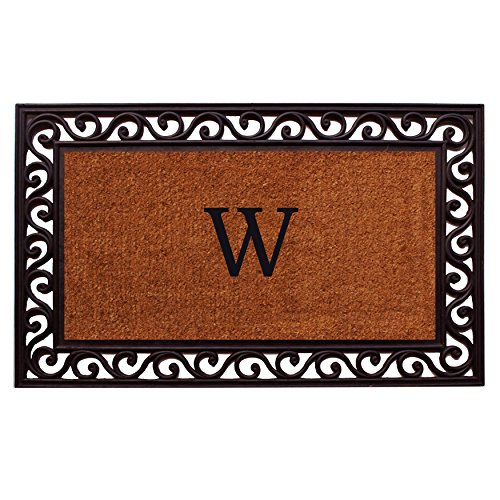 Personalized Front Door Mats (Home & More 100061830W Rembrandt Doormat, 18