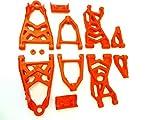 king motor baja buggy rc - Rovan Nylon Upgraded Suspension Arm Kit (red) Fits HPI Baja 5B 5T 5SC King Motor