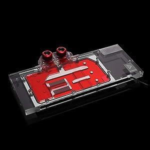 Barrow Copper GPU LRC LED WaterBlock for Radeon ASUS Gigabyte MSI Sapphire ASRock XFX AMD