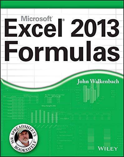 Excel 2013 Formulas Pdf
