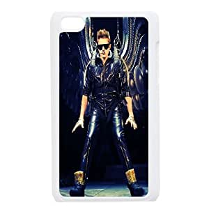 Clzpg DIY Ipod Touch 4 Case - Justin Bieber cell phone case