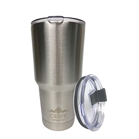 2f34f46af6c 30 oz Stainless Steel Vacuum Insulated Tumbler with Lid, Double-Wall Vacuum  Insulation Travel Cup & Coffee Mug No Sweating Keeps Drinks Hot or Cold ...