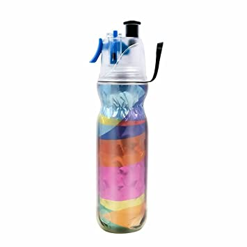 Xixik Botella 500 ML Niebla caño Seguro Eco Friendly plástico Botella de Agua Deportes Botella Botella