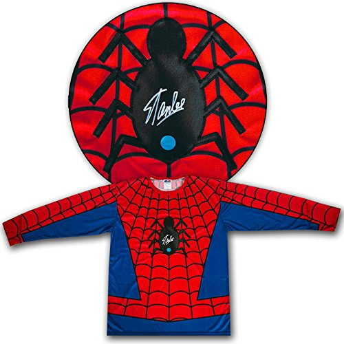 Stan Lee Autographed Spider-Man Amazing Fantasy Comic Book Costume