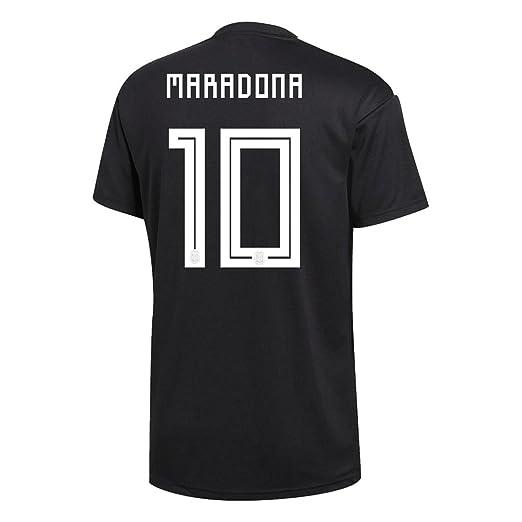 c52e16983 adidas Maradona #10 Argentina Away Soccer Men's Jersey World Cup Russia 2018  ...
