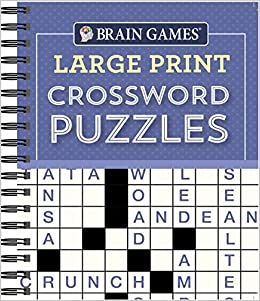 picture about Printable Easy Crossword Puzzles called : Thoughts Online games - Higher Print Crossword Puzzles