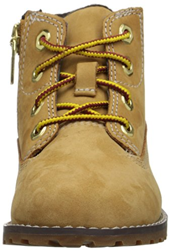Bottines Pine 6in Mixte Timberland wheat Enfant Beige Pokey zT8pwtnqS
