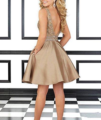 Lotus Vestido Blond Mujer Para Snow Platinum 8UqABwAn7