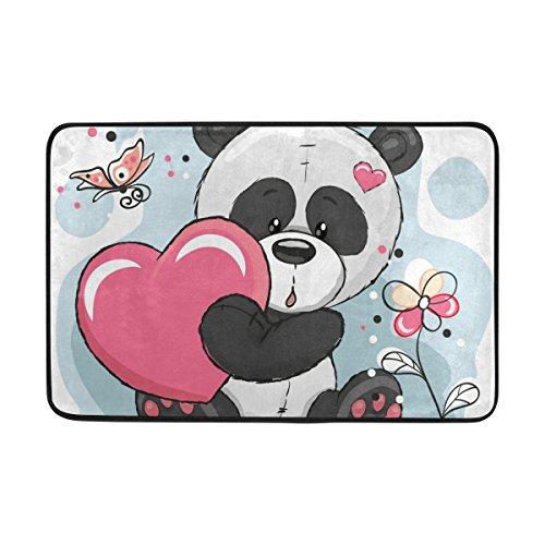 Panda Doormats Kritters In The Mailbox Panda Doormat