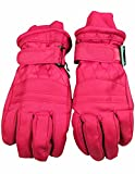 Winter Warm-Up - Little Girls' Ski Gloves, Fuchsia 36487-Medium