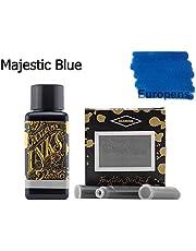 Diamine 30ml Majestic Blue vulpen inkt fles + inktcartridges 6 pack