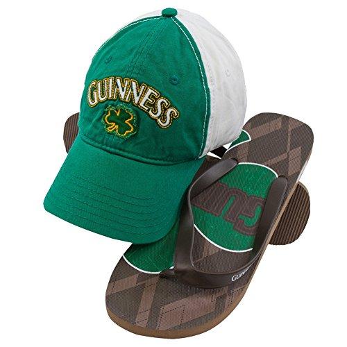 Guinness - Klöver Logo Justerbart Lock Och Flip-flops Combo Set