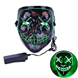 Halloween Scary Mask LED Light Up Masks Cosplay