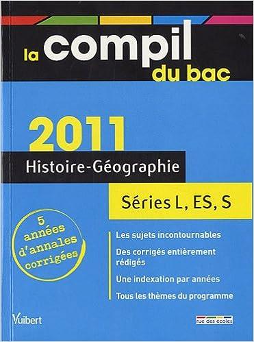 Livre Histoire Géographie Bac L, ES, S epub, pdf