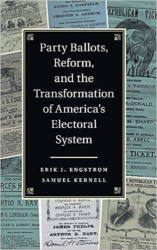Kostenlose Downloads von Lehrbüchern Party Ballots, Reform, and the Transformation of America's Electoral System PDF