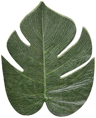 Tropical leaves luau party decorations