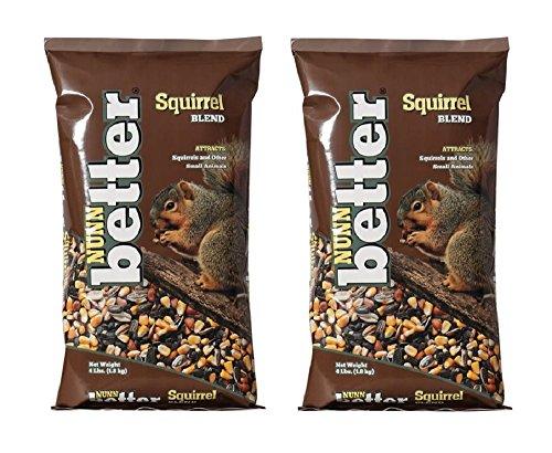 Nunn-Better 8 LB Gourmet Squirrel Food 2 bags, 4 LB each,...