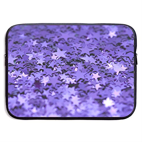 CHJOO Laptop Sleeve Bag Five-Pointed Stars Seamless Graphics