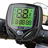 Bike Speedometer, Trippix Wireless Waterproof Bike Computer and Odometer, Multifunctional Cycling Accessories with Automatic Wake-up LCD Back-Light Display for Mountain Bike, Road Bike and Common Bicycle