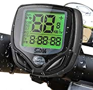 Bike Speedometer, Trippix Wireless Waterproof Bike Computer and Odometer, Multifunctional Cycling Accessories
