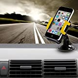 GULAKI 2-in-1 Car Phone Mount Holder,Car Air Vent Holder for Apple iPhone 6+/6/5S/5C/5/4S/4 Samsung Galaxy S6/5/4/3,Note 4,Edge,Samsung Galaxy Mega2,Nokia Lumina HTC LG Google Android Nexus 4/5/7 and other Smartphones