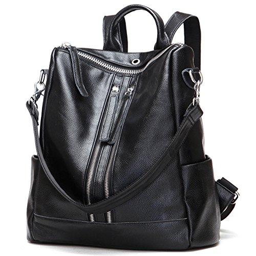 Leather Backpack Handbags - 7