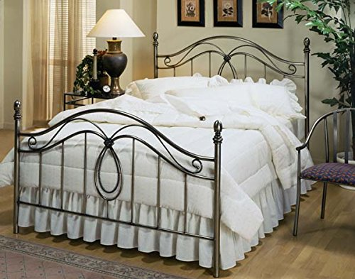 Hillsdale Milano Queen Poster Bed in Silver