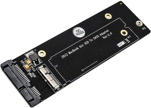 JUNERAIN - Tarjeta Adaptador SSD para MacBook Air/Pro Retina ...
