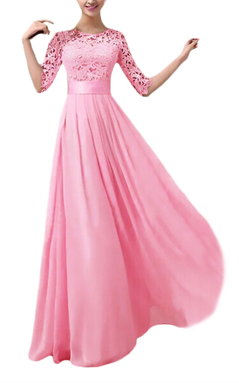 Mujer Vestidos Largos De Fiesta Para Bodas Fashion Celebración ...
