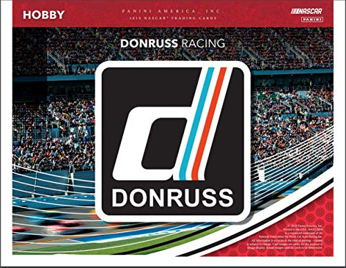 (2019 Panini Donruss Racing Factory Sealed Hobby Box NASCAR)