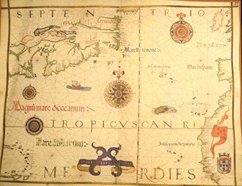 Home Comforts LAMINATED POSTER Map of Las Palmas Casa de Colon - Museum Atlas Universal POSTER 24x16 Adhesive Decal (Laminated Museum Map)
