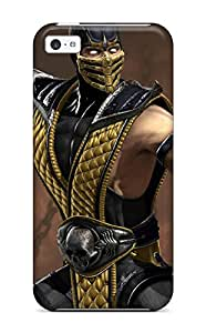 Annie Bradley John's Shop Best 6369967K37583098 Tpu Case Cover Compatible For Iphone 5c/ Hot Case/ Video Game Mortal Combat