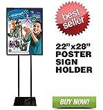 "Signworld Floor Standing Poster Display Stand Sign Holder 22"" X 28"""