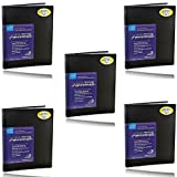Itoya Art Profolio Advantage 5x7 Inch Photo Book Holds 48 Photos 6 Pack Kit + Photo4less Cleaning Cloth