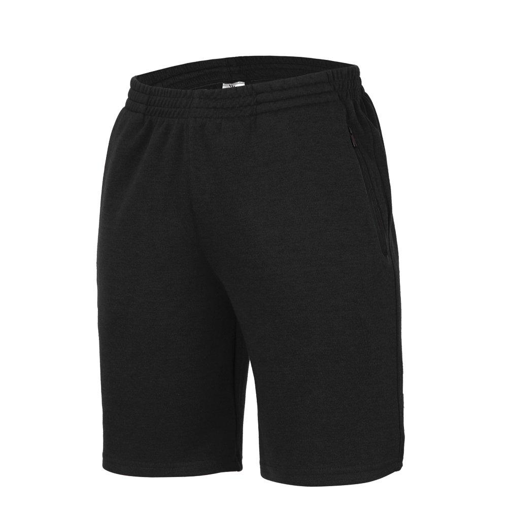 高級品市場 BeroyメンズアクティブトレーニングランニングジムJersey Shorts with 2つジッパーポケット B06ZZN8HTD Black Shorts Shorts M Shorts M|Black Black Shorts, 住田町:b064aaf9 --- svecha37.ru