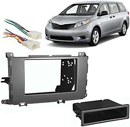 2012 sienna stereo wiring diagram amazon com compatible with toyota sienna 2011 2014 multi din  compatible with toyota sienna 2011 2014
