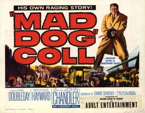 Mad Dog Coll POSTER Movie (22 x 28 Inches - 56cm x 72cm) (1961) (Half Sheet Style - Brooke Davis Style